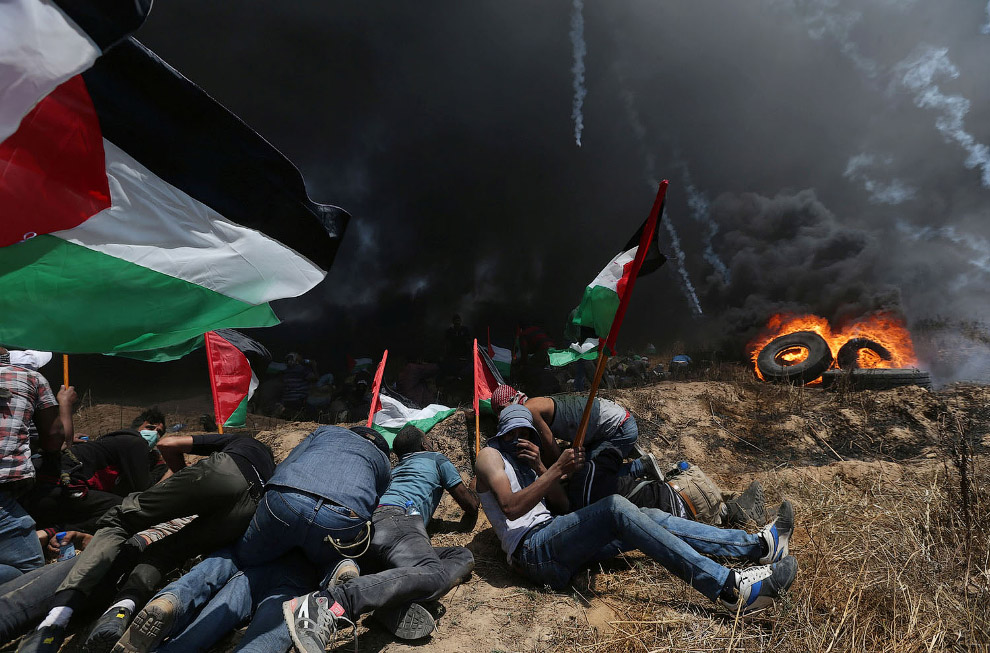ISRAEL-USA/PROTESTS-PALESTINIANS