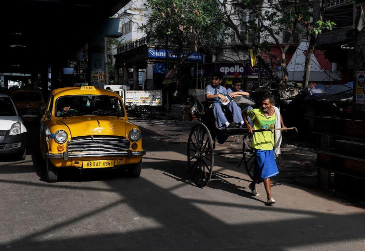 Некоторые журналисты считают, что исчезнут рикши в Индии