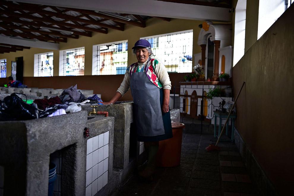 Муниципальная прачка в Эквадоре
