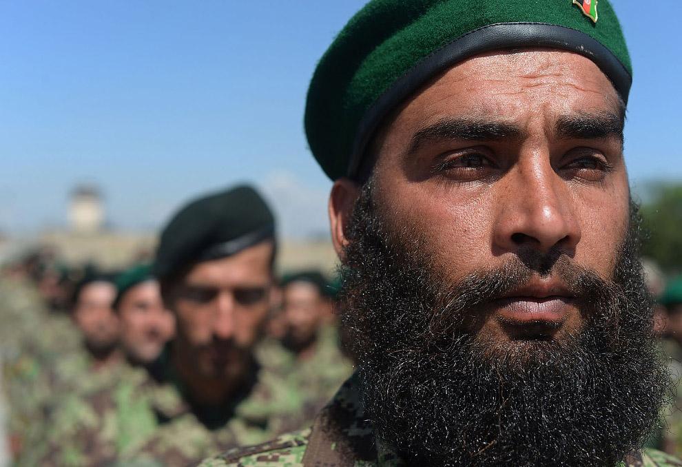 Выпускники Афганской национальной армии