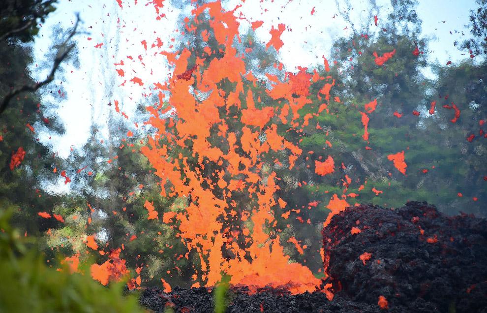 Извержение вулкана Килауэа 2018