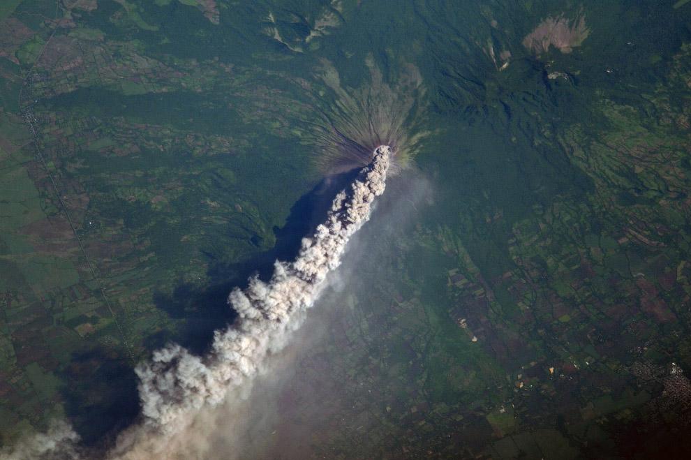 В Никарагуа проснулся вулка