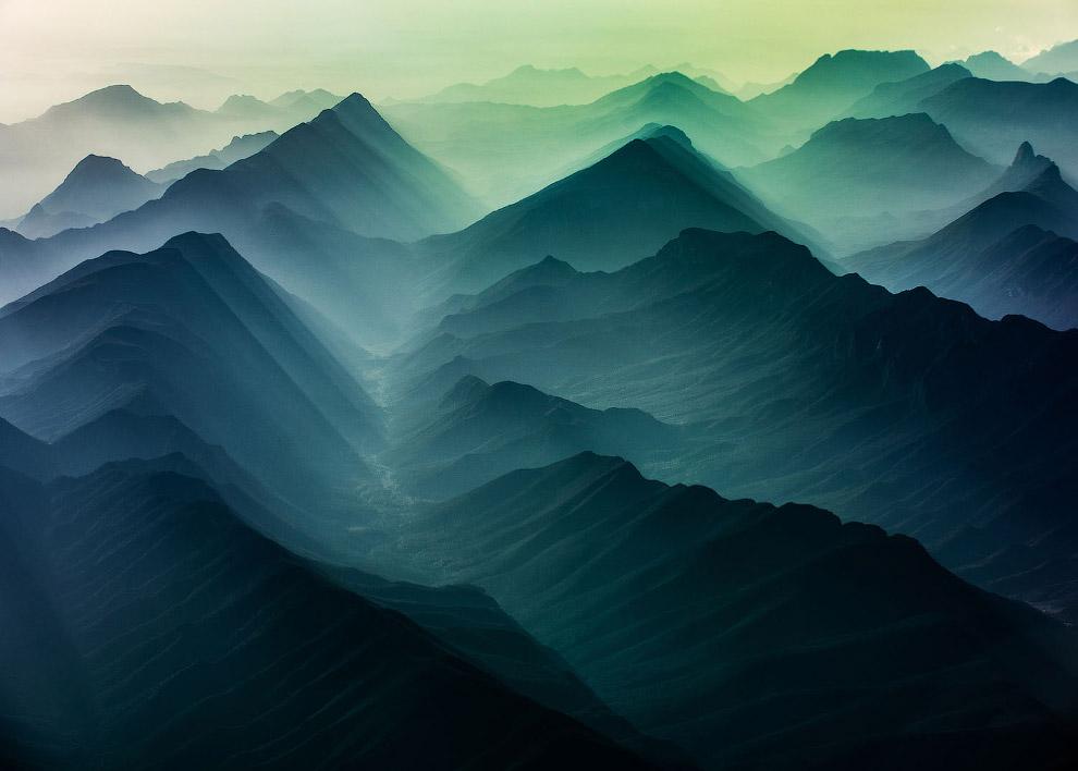 Горные пейзажи Мексики