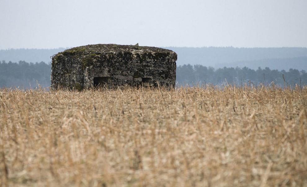 Немецкий бункер времен Первой мировой войны