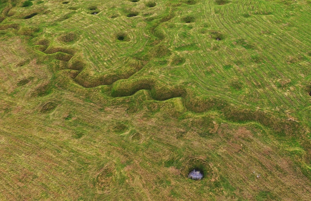 Спустя 100 лет земля еще не затянула раны в Бомон-Хамеле, Франция