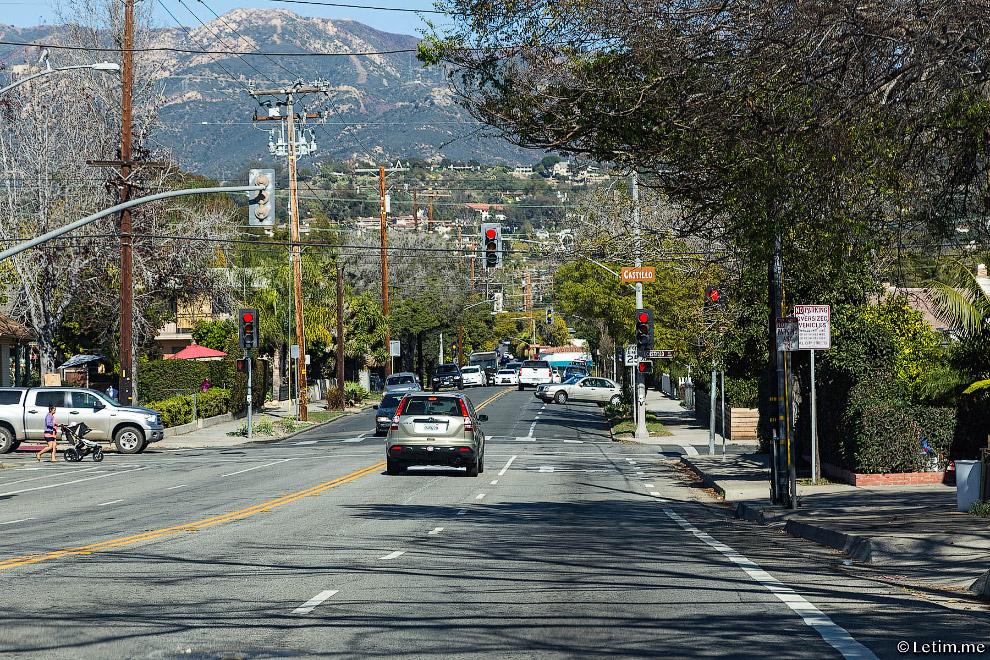 Типичные американские улицы:
