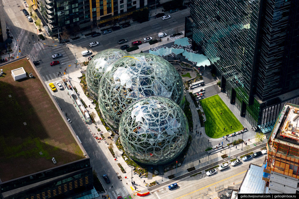 Биосфера Амазон «The Amazon Spheres»