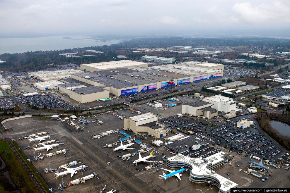Авіазавод Боїнг (Boeing Everett Factory)