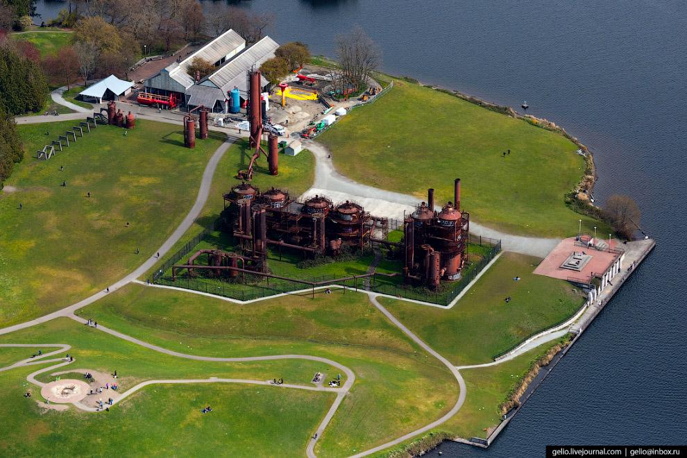 «Гес Воркс» парк (Gas Works Park)