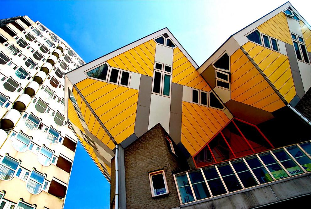 Дома-Кубы в Роттердаме