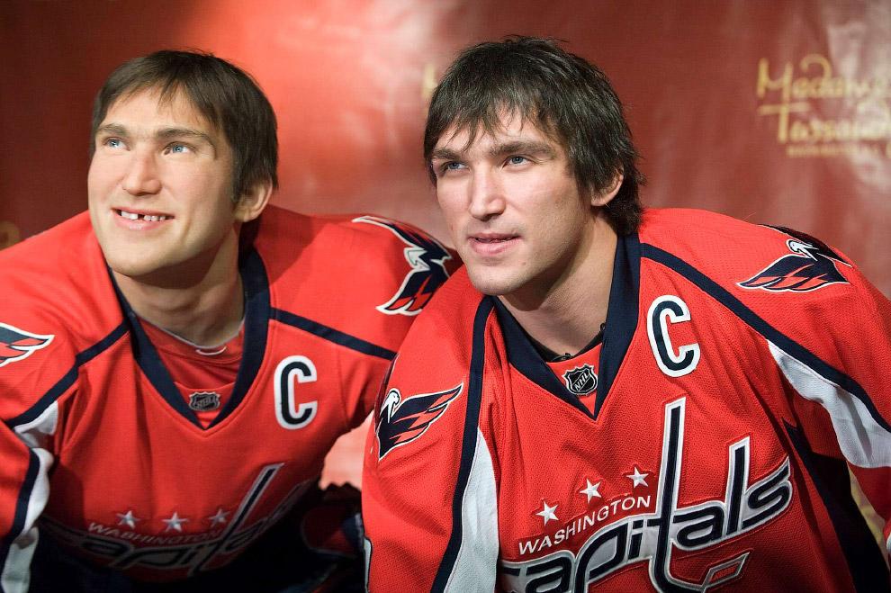 Хоккеист Александр Овечкин