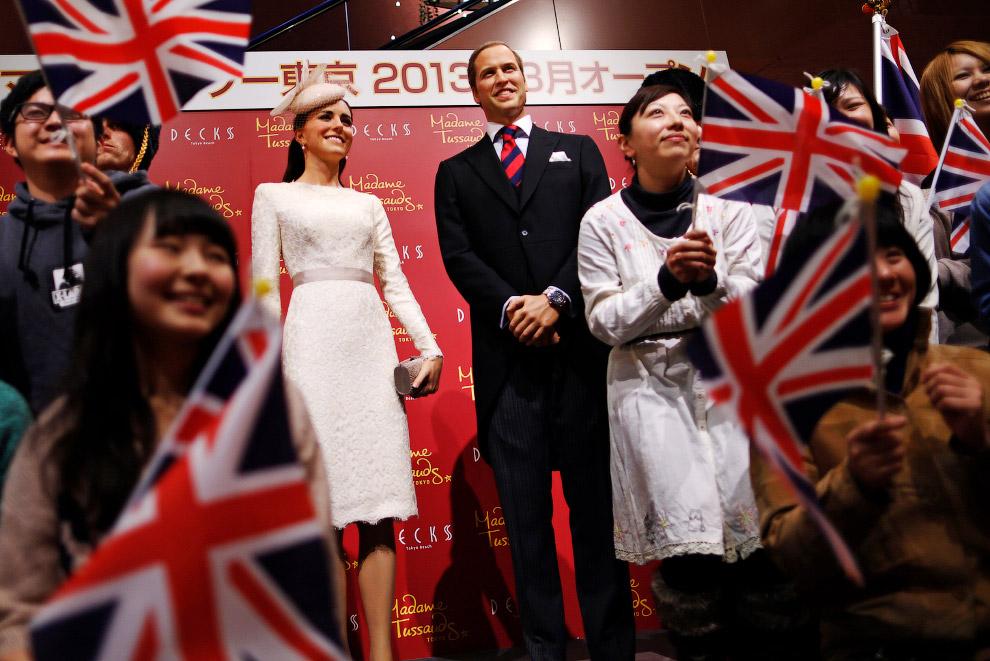 Принц Уильям и его жена герцогиня Кембриджская