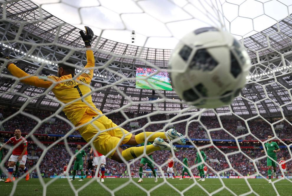Александр Головин пятый гол в ворота Саудовской Аравии