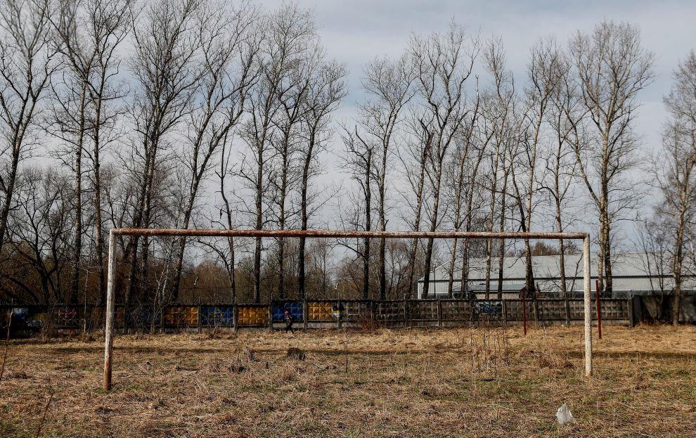 Ворота в городе Долгопрудный в Московской области