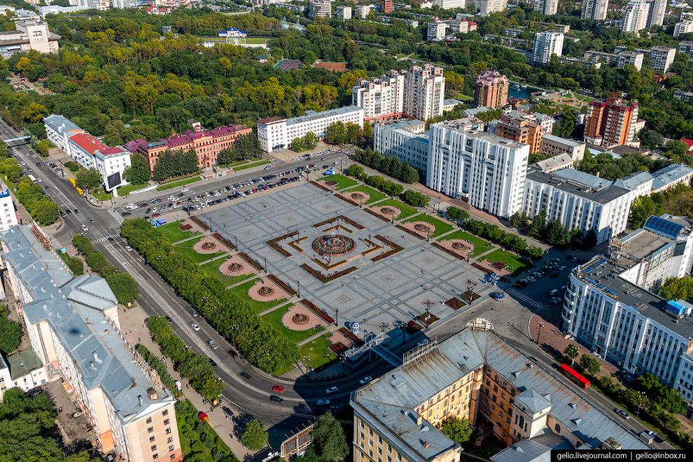 Площадь имени Ленина — главная площадь Хабаровска