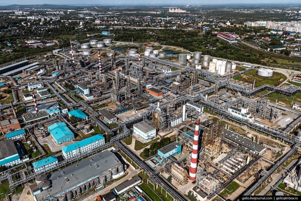 Хабаровский нефтеперерабатывающий завод (ХНПЗ)