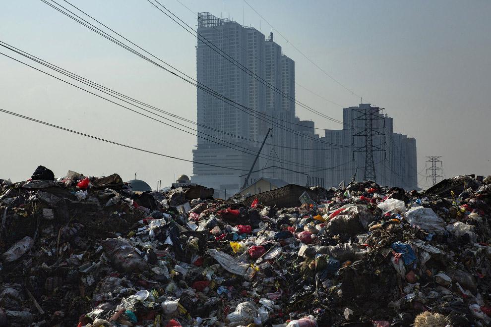 Джакарта, Индонезия. Новые кварталы