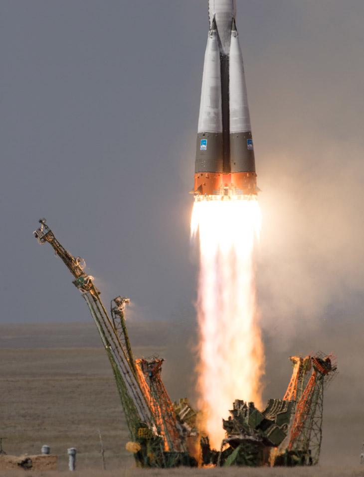 Старт космического корабля «Союз МС-09»