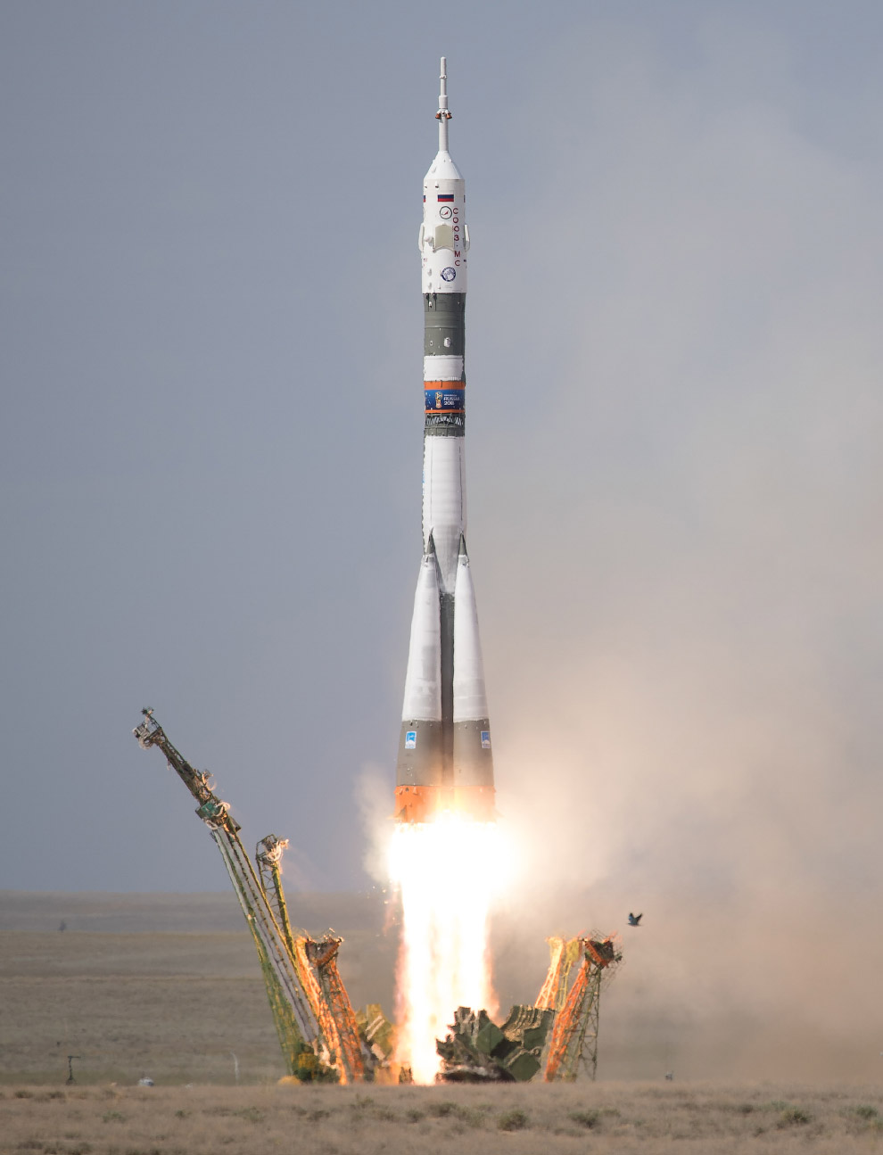 Expedition 56 Launch