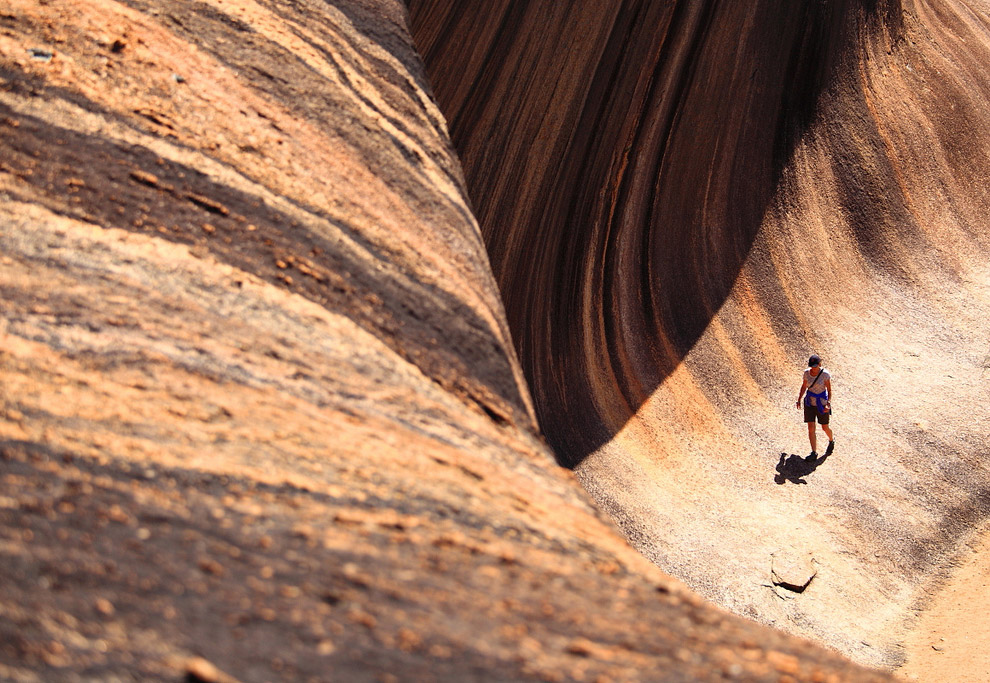 Каменная волна в Австралии