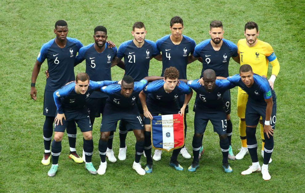 команда Франции