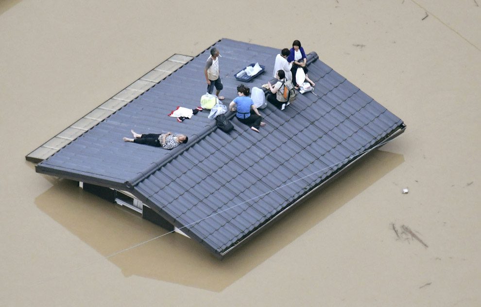 Наводнение в Японии 2018
