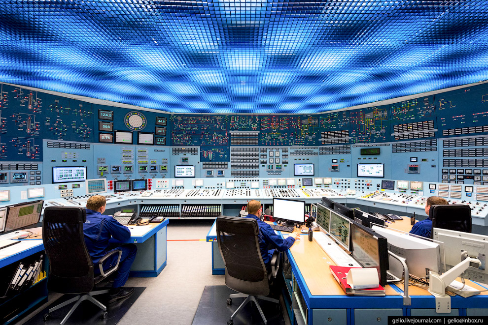Блочный щит управления (БЩУ) — мозговой центр АЭС