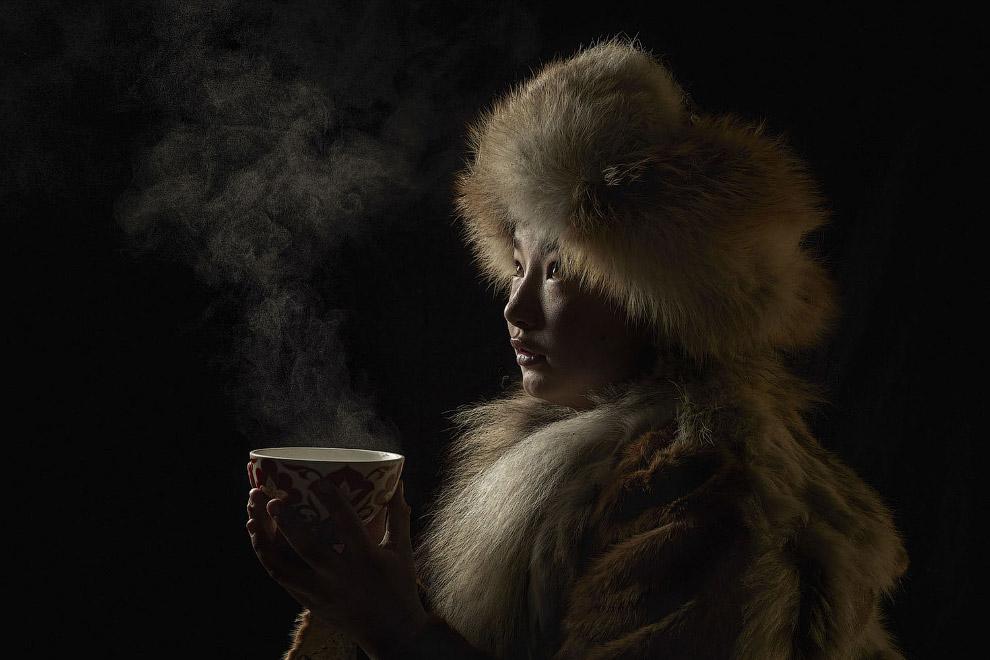 Чайная церемония в Монголии