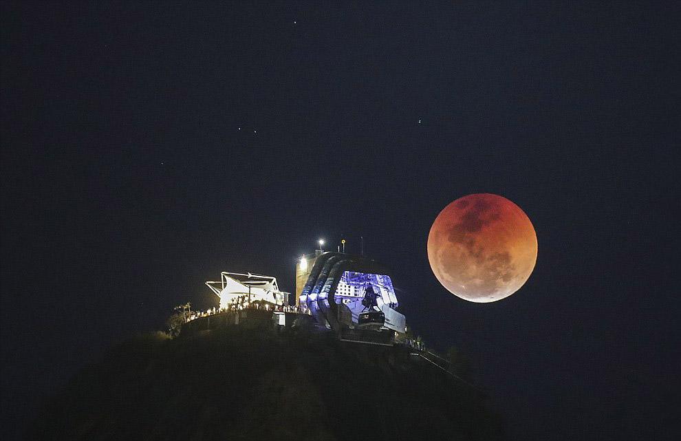 Затмение в Рио, Бразилия