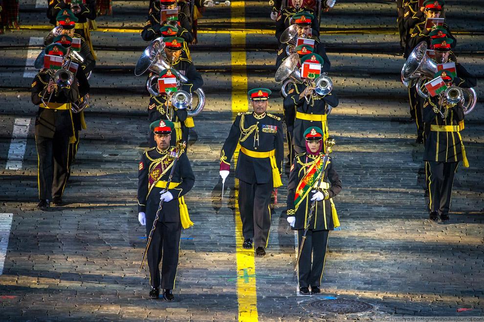 Военный оркестр Шри-Ланки.