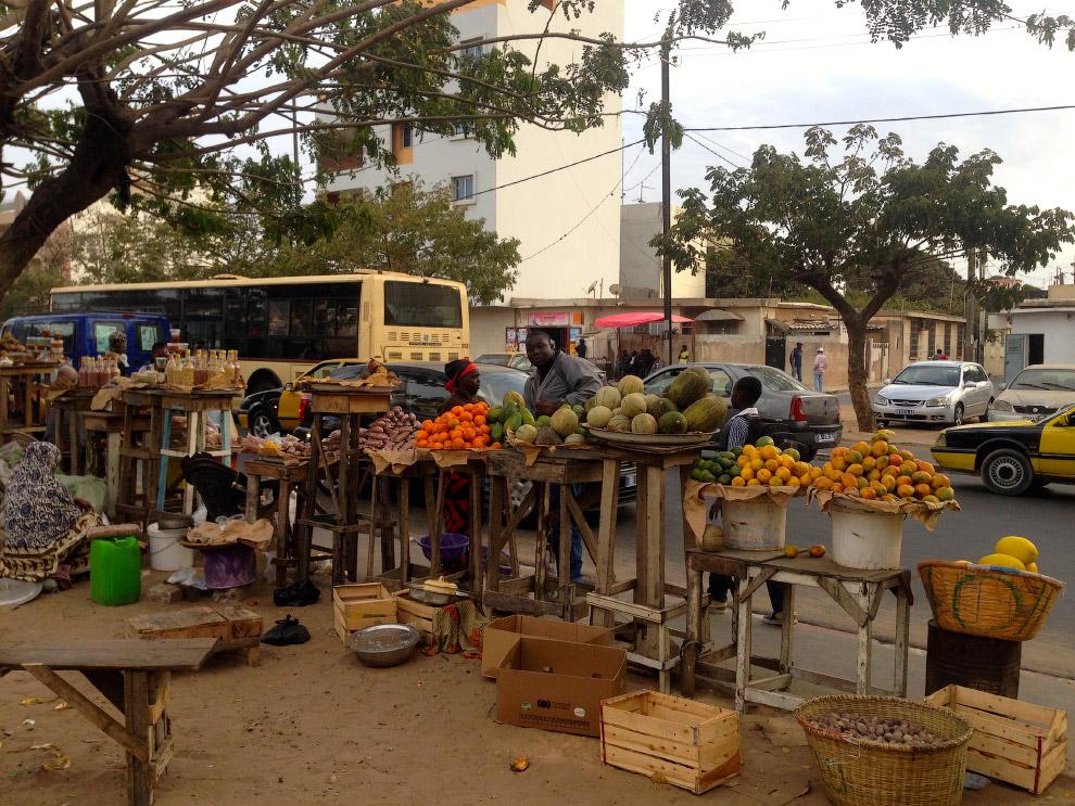 Самый западный город Африки, столица Сенегала