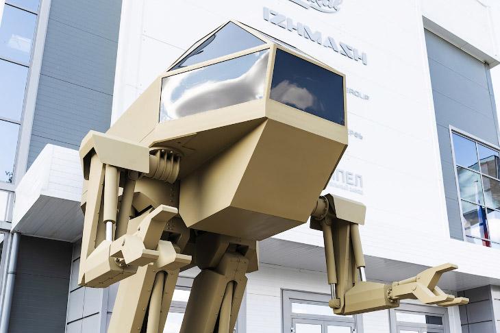 Новинки «Калашникова»: автомат гибридный багги и шагающий робот
