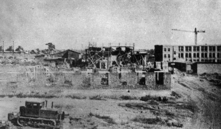 Строительство предприятия Купол 1953-1955 годы.