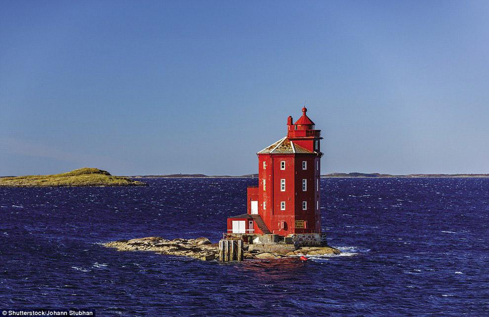 Маяк Kjeungskjaer, Норвегия