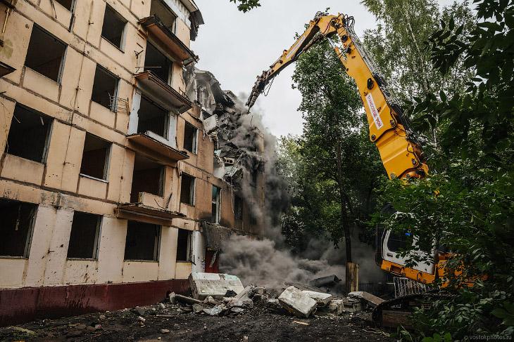 Снос по реновации в Москве. Как это происходит