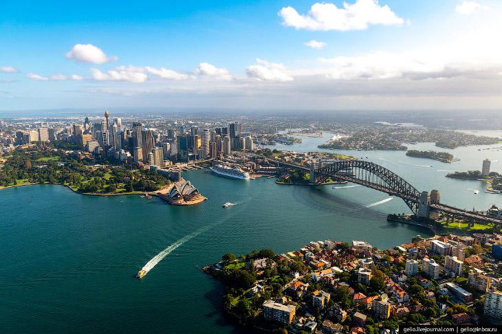 Сидней с высоты: город сёрфинга и небоскрёбов