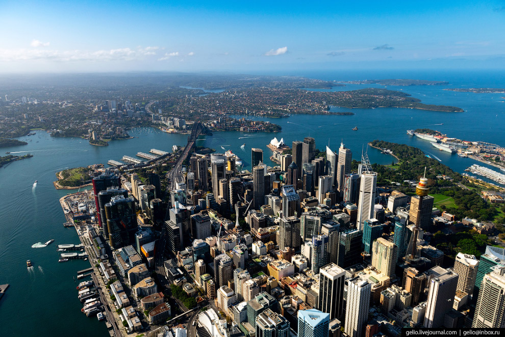 Central Business Distrcit или Sydney City