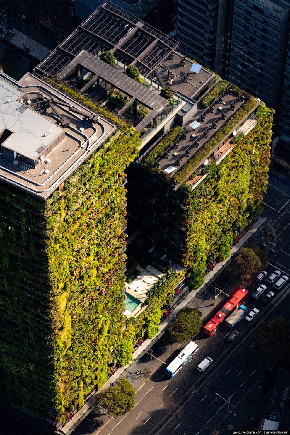 «Зелёный» небоскрёб One Central Park