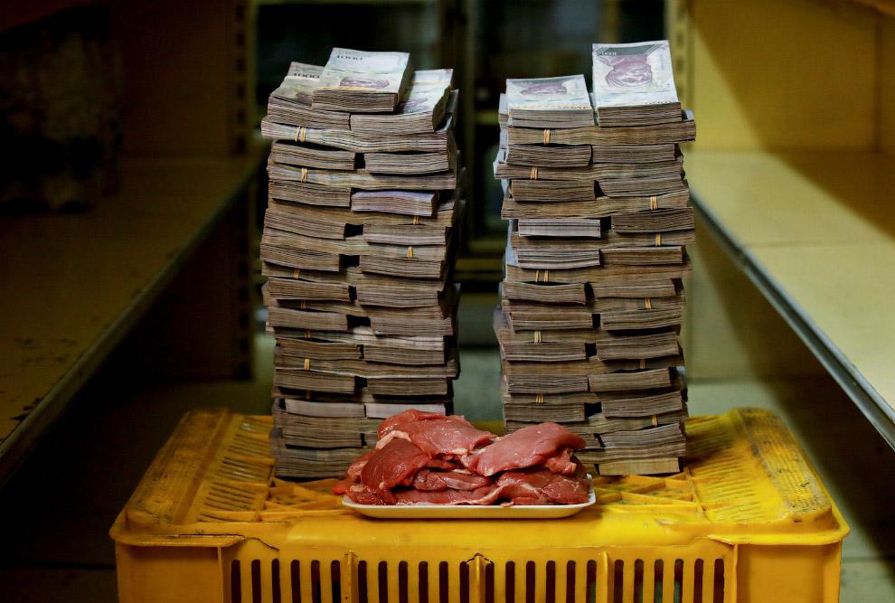 Инфляция в Венесуэле: наглядная визуализация