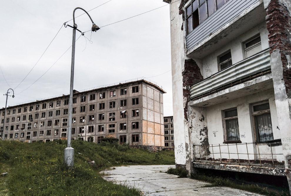 Панельные пятиэтажки в Мурманске