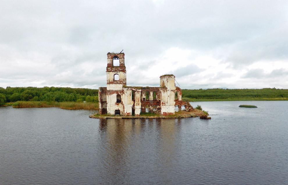 Церковь Рождества Христова в Крохино, Вологодская область