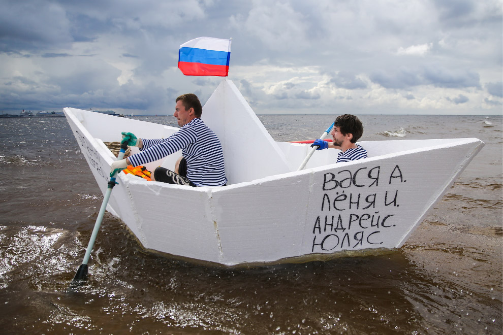 Шоу «Заплыв» в Санкт-Петербурге
