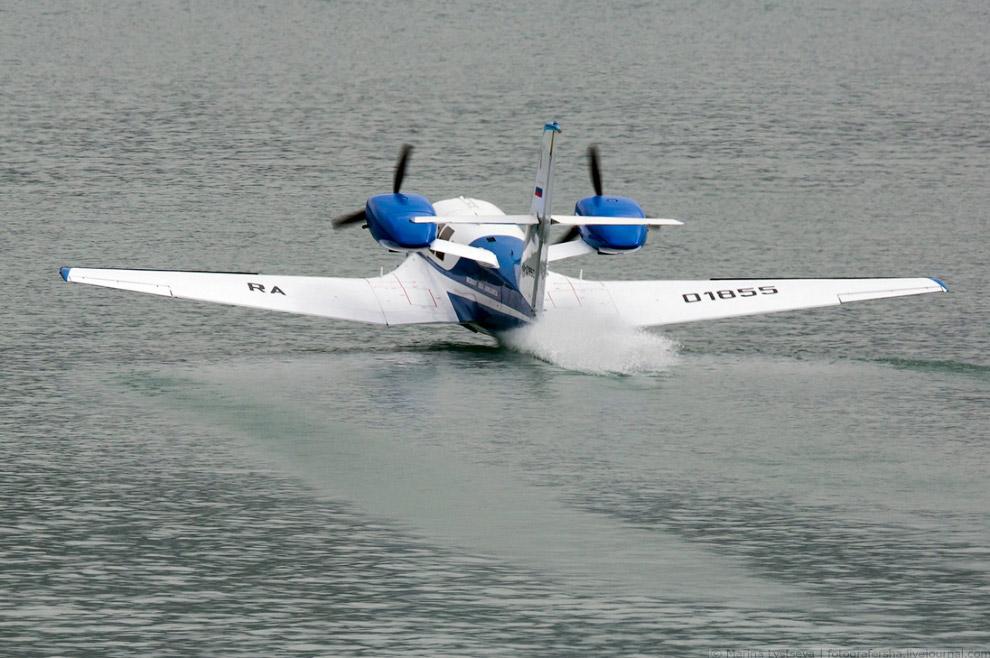 Лёгкий самолёт-амфибия Бе-103