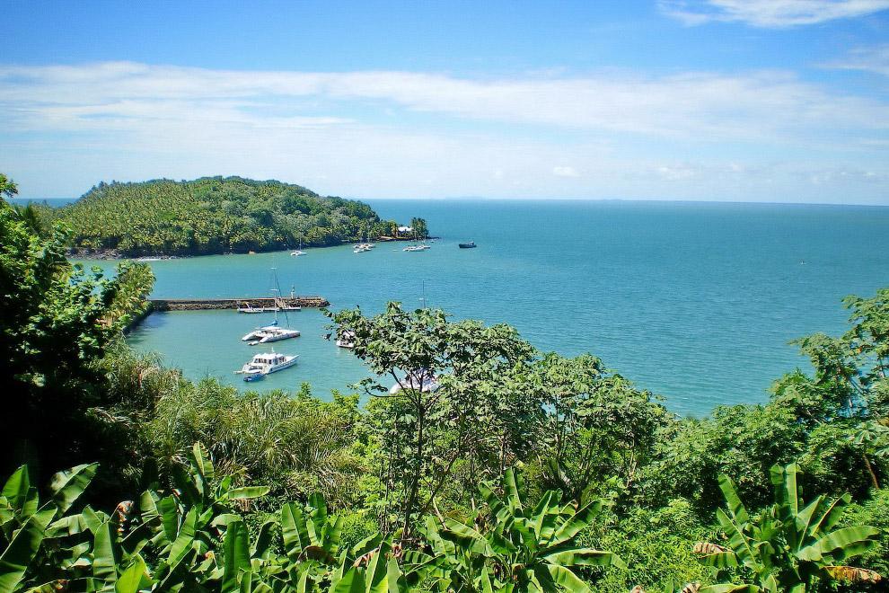 Чертов остров, Гвиана