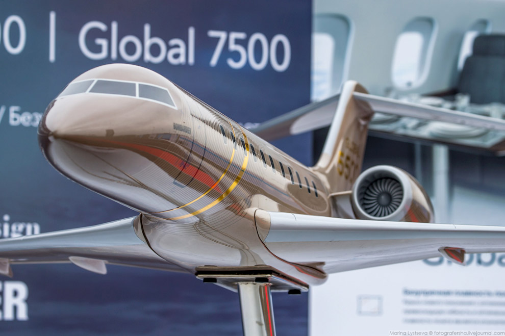 бизнес-джетов Global-6500