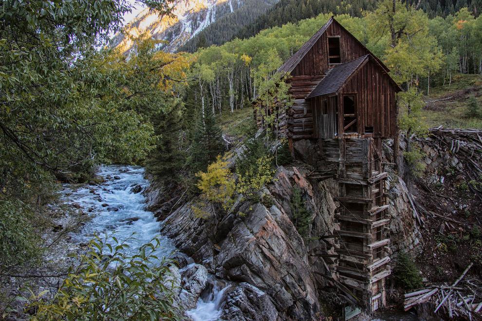 Деревянная электростанция «Кристал-Милл», США