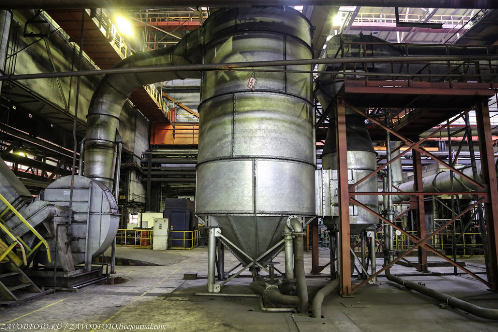 Аспирационная система очистки газов.