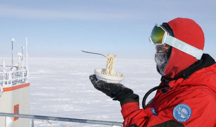 Что будет с едой в Антарктиде?
