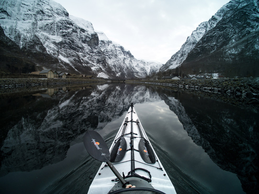 Kayaking in Norway