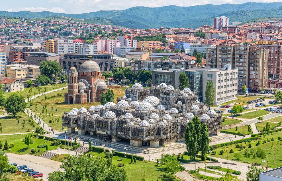Национальная библиотека Косова